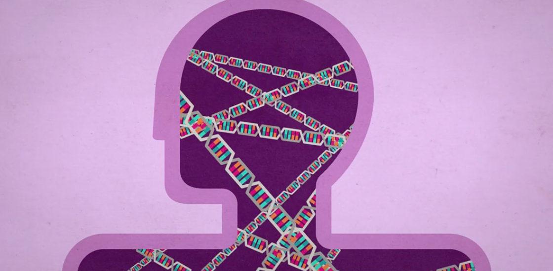DNA inside of human form