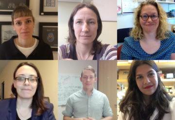 six headshots of autism researchers