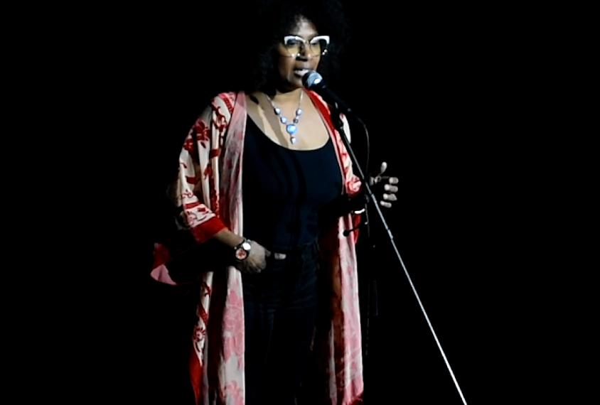 TC Waisman during her performance