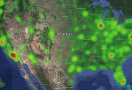 Heatmap of the United States