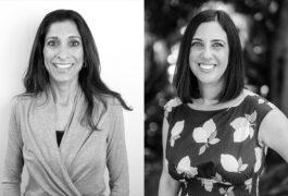 Shafali Jeste and Nicole McDonald portraits