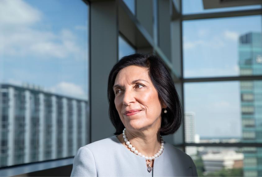 Dr. Huda Zoghbi portrait